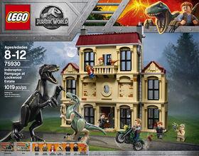 LEGO Jurassic World L'indoraptor déchaîné au domaine Lockwood 75930