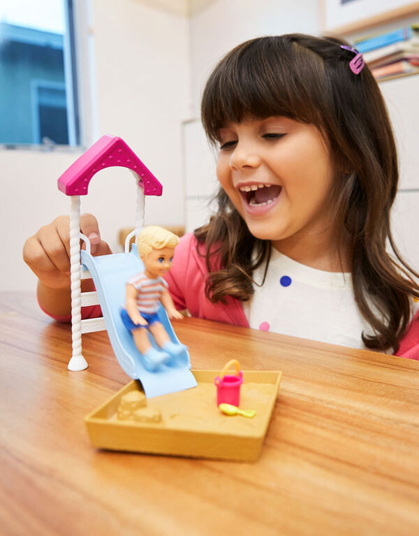 Barbie Skipper Babysitters Inc Doll & Playset, Toddler