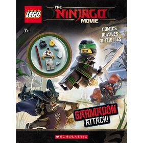 Lego Ninjago Activity Book - Garmadon Attack