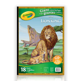 Crayola Giant Colouring Pages, Lion King