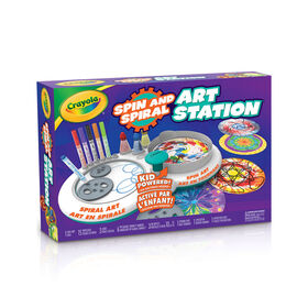 Crayola Spin & Spiral Art Station