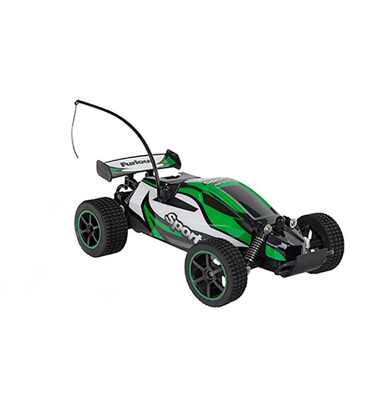 1:20 High Speed Mad Runner - Speed Racing Remote Control Car - Green