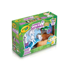 Crayola Scribble Scrubbie Safari Animal Play Set