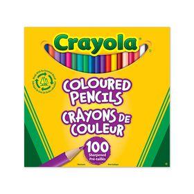 Crayola - 100 Coloured Pencils