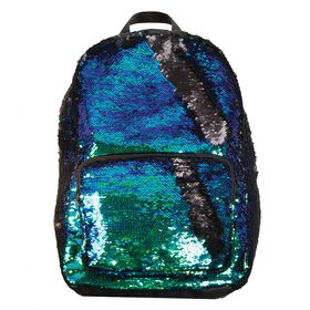 Sequin Magic Backpack Black.