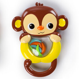 Bright Starts Shakin Safari Rattles - Monkey