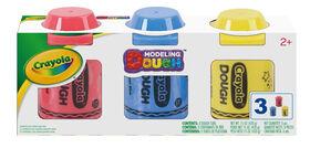 Crayola - 3 x 5 oz Dough Pack