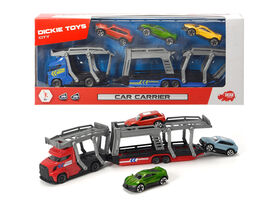 Dickie Toys - Car Carrier.