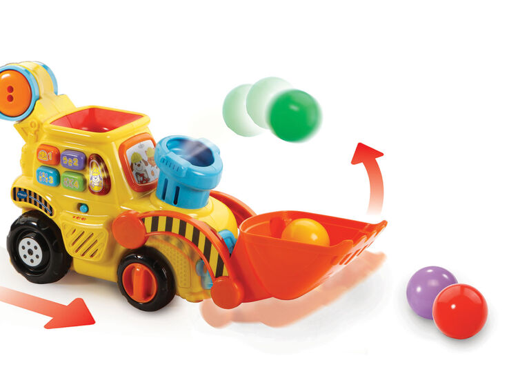 Pop-a-Balls Push & Pop Bulldozer - French Edition