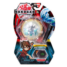 Bakugan Ultra, Haos Krakelios, 3-inch Tall Collectible Transforming Creature