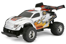 New Bright RC 1:24 Scale Buggy Radio Control Toy - Chrome