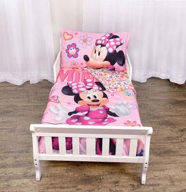 Disney Minnie Mouse 3-Piece Toddler Bedding Set