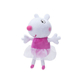 """Peppa Pig 6"""" Plush with Sounds - Ballerina Suzy"""