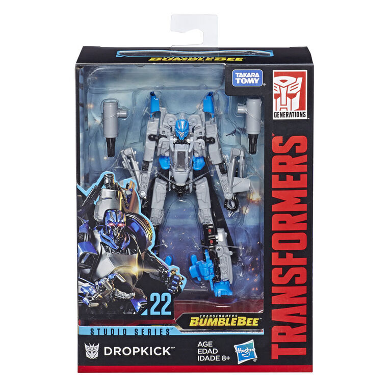 Transformers Studio Series 22 Deluxe Class Transformers: Bumblebee Dropkick