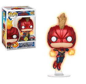 Funko POP! Movies: Captain Marvel - Captain Marvel Vinyl Figure - R Exclusive
