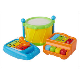 Bruin 3 in 1 Musical Instrument Set