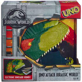 UNO Attack Jurassic World Card Game