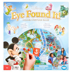 Wonder Forge: Disney - Eye Found It! Board Game