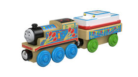 Fisher-Price Thomas and Friends Wood Birthday Thomas Train