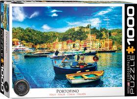 Eurographics Portofino Italy 1000 Piece Puzzle