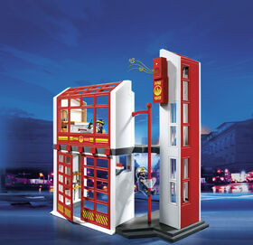 Playmobil - Fire Station with Alarm (5361)