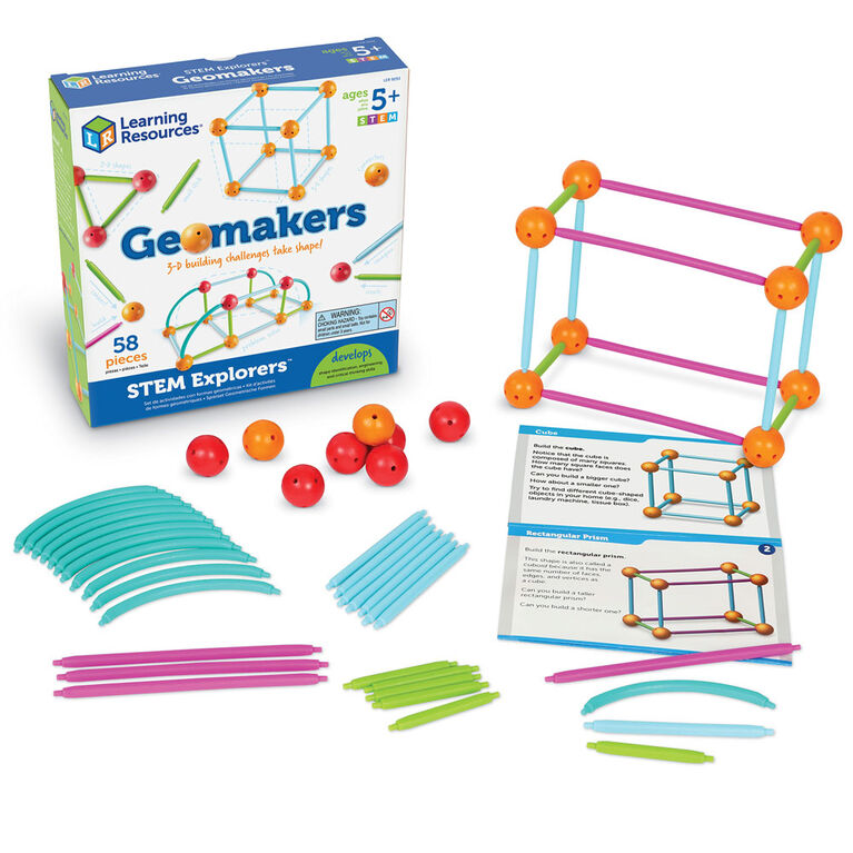 Learning Resources STEM Explorers Geomakers