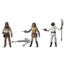 Star Wars Collection Vintage Épisode VI : Le Retour Du Jedi - Esquif de Tatooine avec figurines