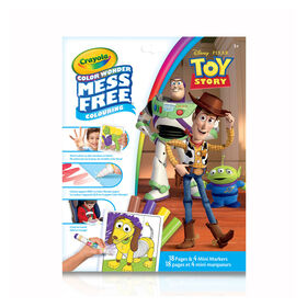 Crayola Mess-Free Color Wonder Pages & Mini Markers, Toy Story