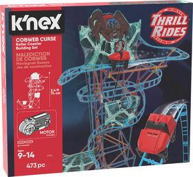 K'Nex Cobweb Curse Roller Coaster Building Set
