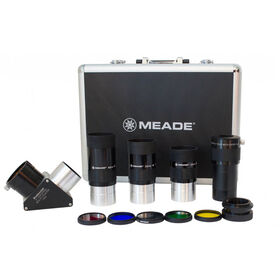 "Meade Eyepiece Kit, Eyepieces 2"", Barlow, Filters 607010"