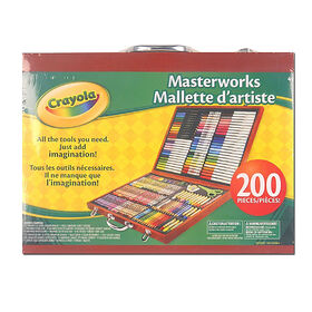 Crayola - Masterworks Art Case-Espresso - Exclusive