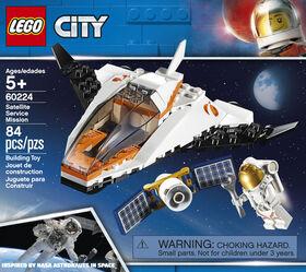 LEGO City Space Port Satellite Service Mission 60224
