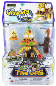 The Grossery Gang Time Wars Wave 1 Action Figure - Putrid Pizza