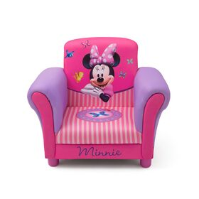 Disney Minnie Mouse Upholstered Chair - Exclusive