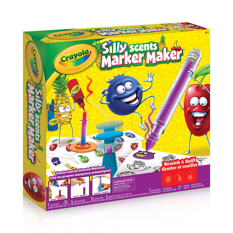Crayola - Silly Scents Marker Maker