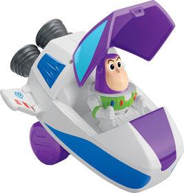 Disney Pixar Toy Story Buzz Pop-up Spaceship Cruiser