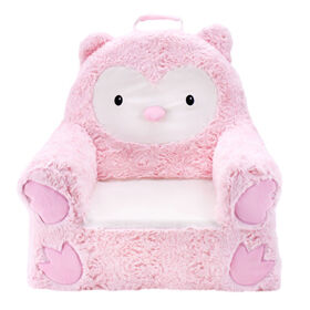 Soft Landing™ Sweet Seats™ -  Pink Owl Character Chair