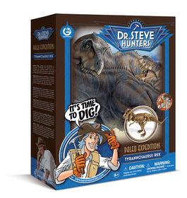 Dr. Steve Hunters - T. Rex vs. Triceratops Expedition Dino Dig Kit
