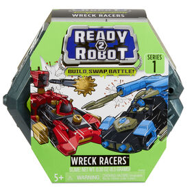 Ready2Robot Wreck Racers Robot Vehicles with Slime