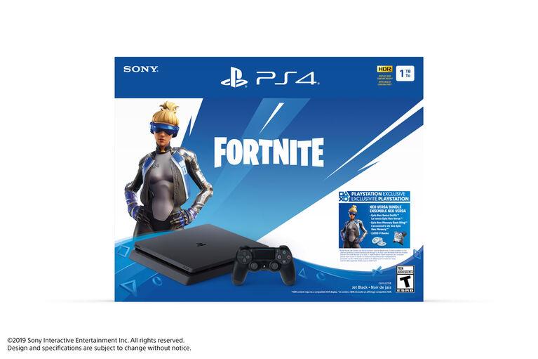 PlayStation 4 Slim 1TB Hardware Fortnite Bonus