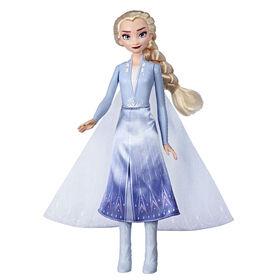 Disney Frozen - Poupée mannequin Elsa Aventure magique
