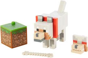Minecraft Comic Maker Wolf Action Figure - English Edition