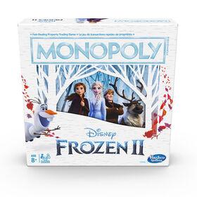 Jeu Monopoly: édition La Reine des neiges 2
