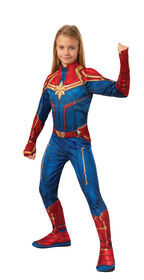 Captain Marvel Costume - Small 4-6