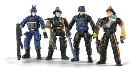 True Heroes Action Figures - Tactical Rescue Unit