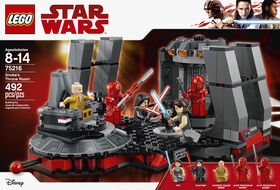 LEGO Star Wars TM Snoke's Throne Room 75216