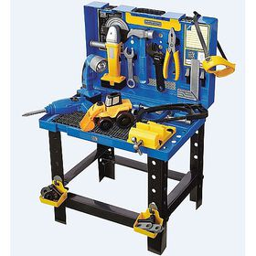 Just Like Home Workshop - Deluxe Carry Case Workbench
