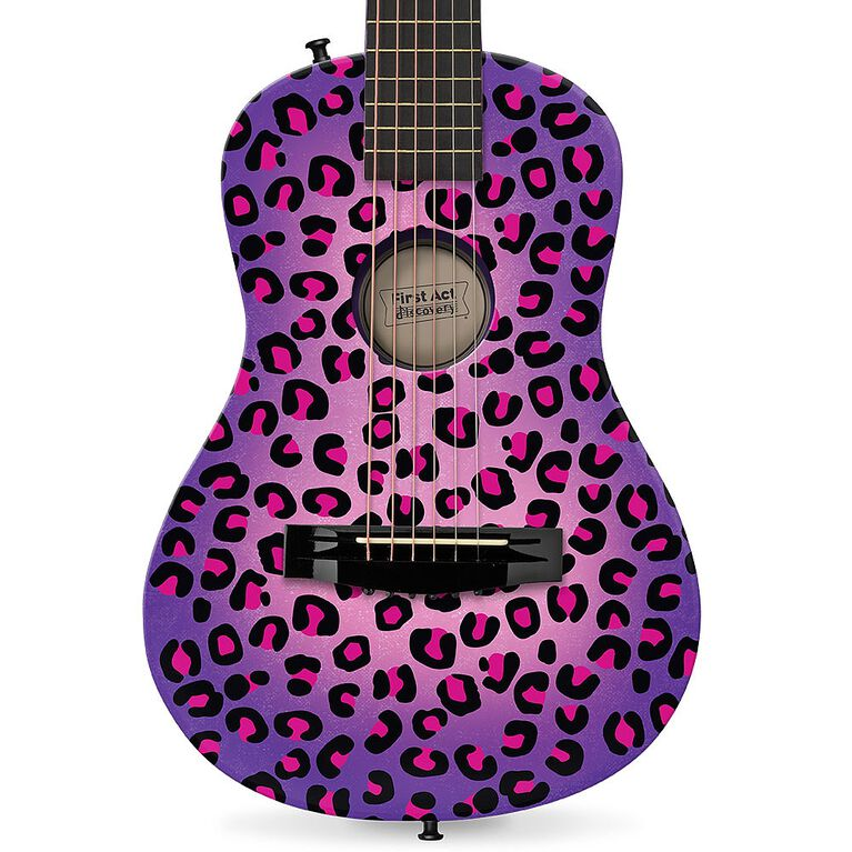 First Act - Discovery Designer Acoustic Guitar – Purple Cheetah