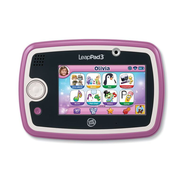 LeapFrog - LeapPad3 Learning Tablet Pink English Edition