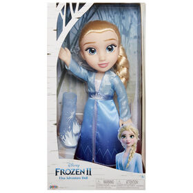 Frozen 2 Poupée de Voyage Elsa